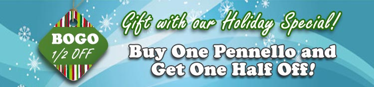 2016 Holiday Special on Pennello Brushes