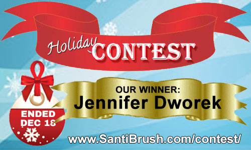 Congratulations to Jennifer, our winner of the Contest!