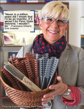 Fran DiSanti, Erie Inventor