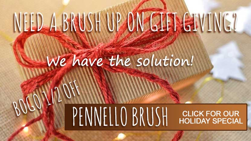 2017 Pennello Brush Holiday Special